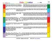 Cvcolorchart